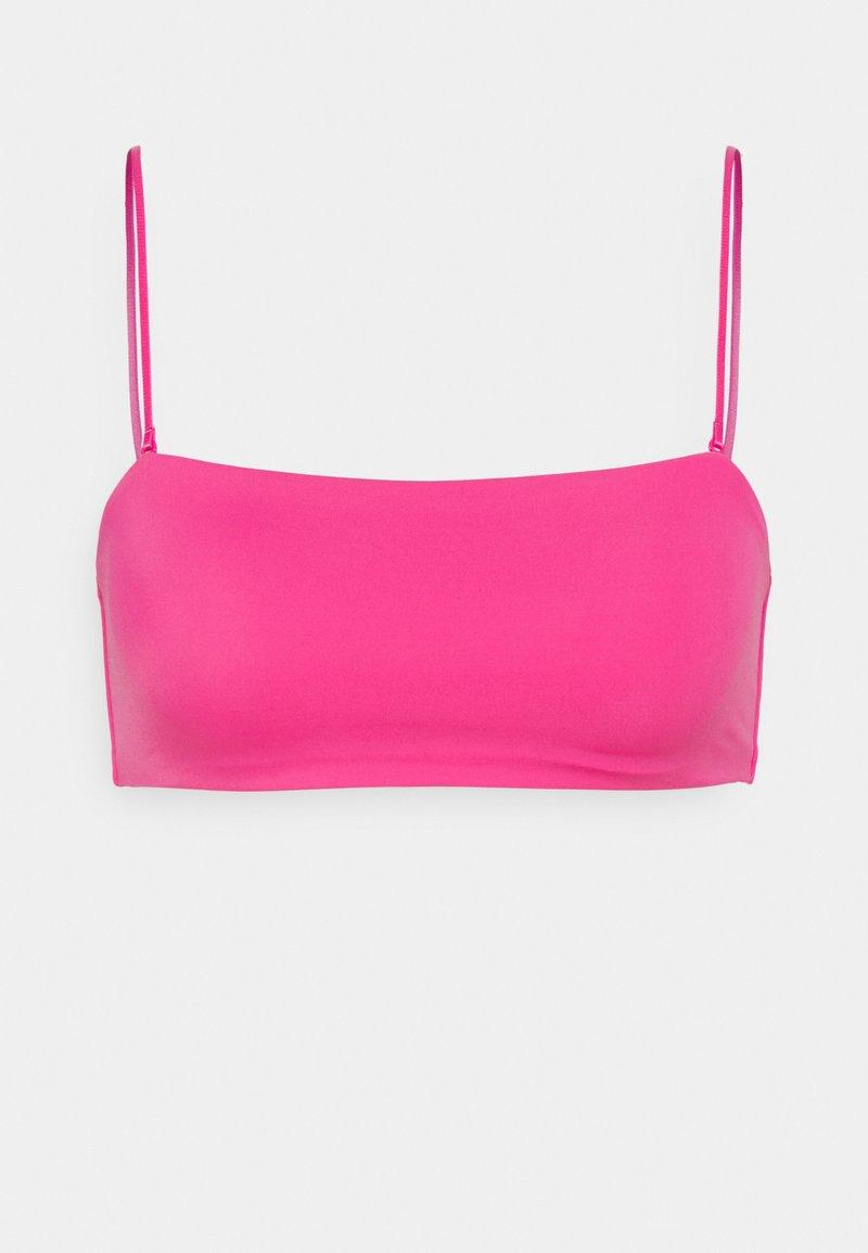 Weekday - BAY SWIM - Bikini top - bright pink
