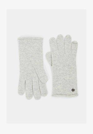 Gloves - pastel grey