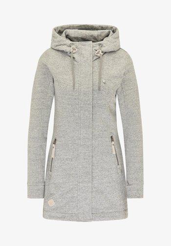 LETTY - Zip-up sweatshirt - grey