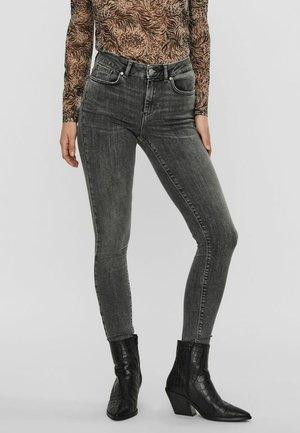 Slim fit jeans - medium grey denim