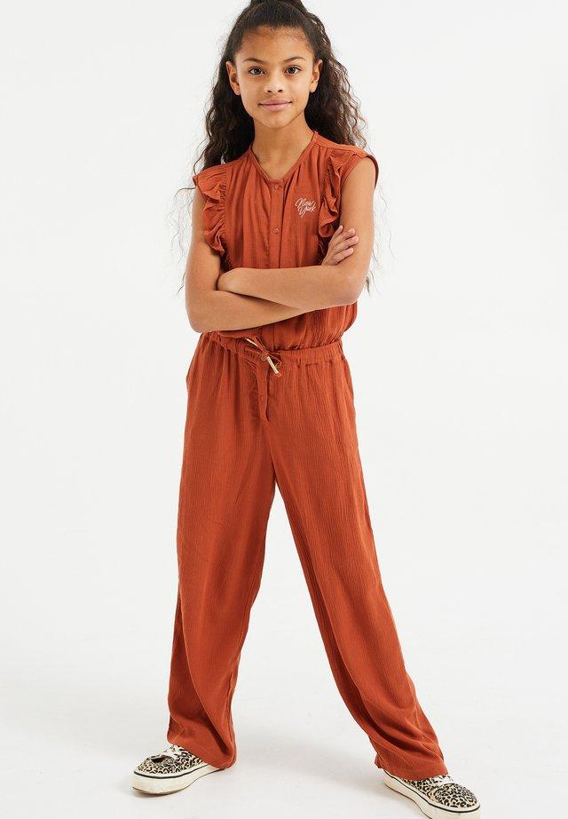 Jumpsuit - cinnamon brown