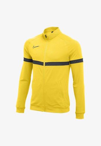FUSSBALL - ACADEMY - Training jacket - gelbschwarzgrau