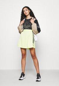 adidas Originals - A-line skirt - semi frozen yellow - 1