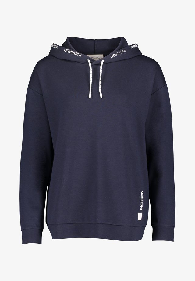 Hoodie - dunkelblau