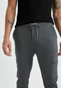DeFacto Fit - Träningsbyxor - anthracite - 3