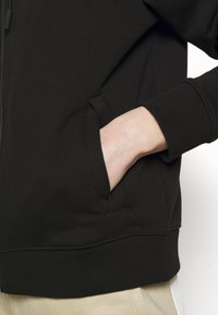 HUGO - DAKOTO - Zip-up hoodie - black - 5
