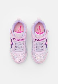 Skechers - GLIMMER KICKS - Tenisky - pink rock glitter/lavender - 3