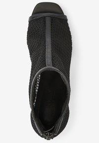 Next - MESH OPEN TOE - Peep toes - black - 1