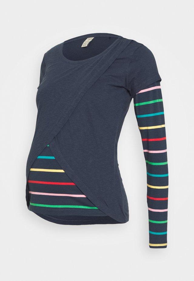 ERICA SWOOP - Langarmshirt - indigo