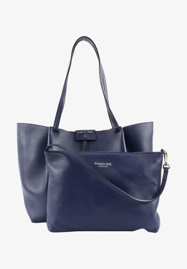 Handbag - dress blue