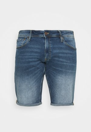 JJIRICK JJORIGINAL - Denim shorts - blue denim
