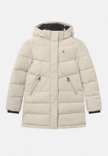RELAXED - Winter coat - beige