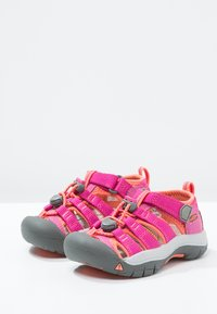 Keen - NEWPORT H2 - Walking sandals - very berry/fusion coral - 2