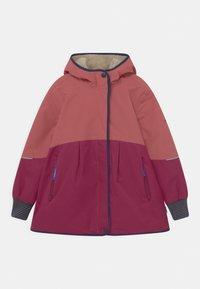 Finkid - AINA MUKKA - Winter coat - rose/navy - 0