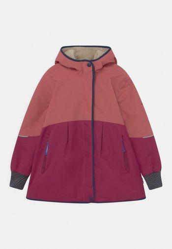 AINA MUKKA - Winter coat - rose/navy