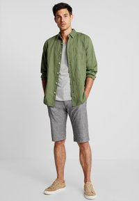 edc by Esprit - CHAMBRAY - Shorts - dark grey - 1