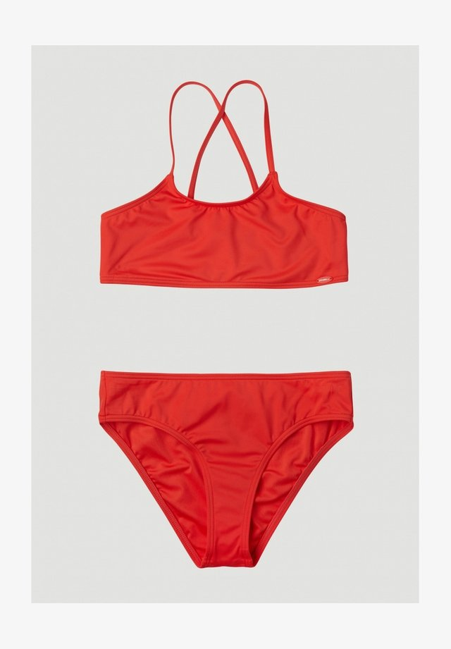 Bikini - hot coral