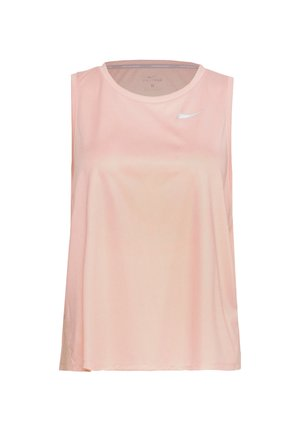 MILER TANK PLUS - T-shirt sportiva - washed coral/reflective silver