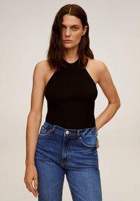 Mango - Slim fit jeans - dunkelblau - 3