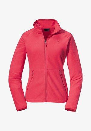 CHERPAI - Fleece jacket - rot