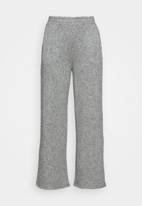 Zign - LOUNGE STRAIGHT PANT  - Bukser - mottled grey - 3
