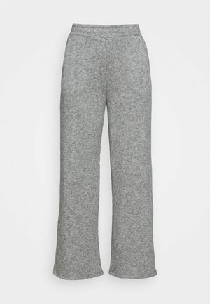 LOUNGE STRAIGHT PANT  - Bukser - mottled grey