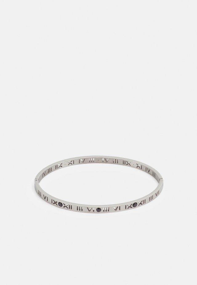 ROMAN CUTOUT BANGLE - Bracciale - silver-coloured