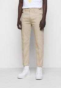 Versace Jeans Couture - GABARDINE TRUE - Kangashousut - lark - 0