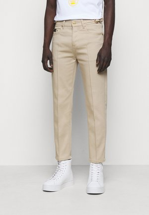 GABARDINE TRUE - Trousers - lark
