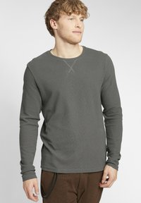 Solid - UPANO - Long sleeved top - castlerock - 0