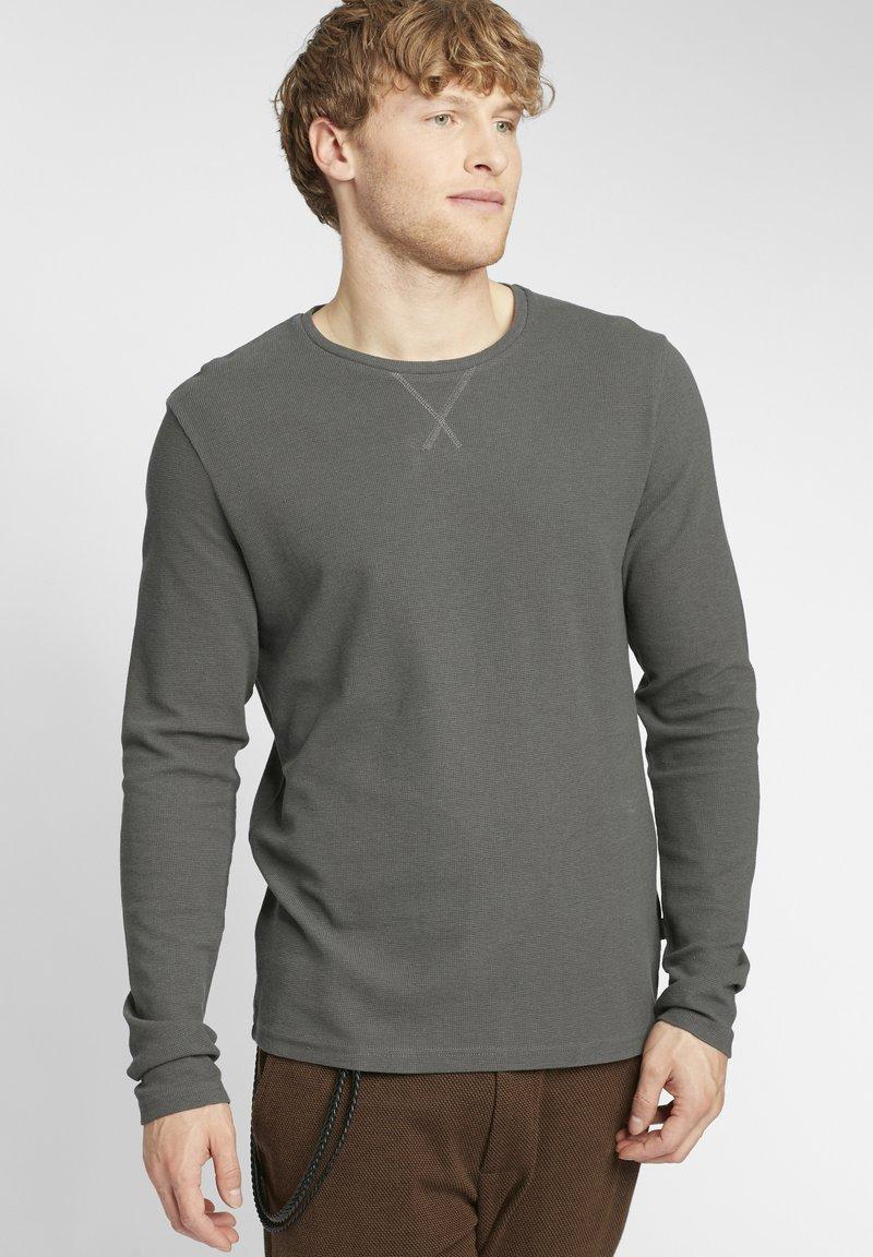 Solid - UPANO - Long sleeved top - castlerock