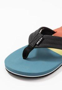 Reef - TRI WATERS - Sandály s odděleným palcem - aqua/blue - 5
