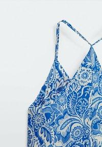 Massimo Dutti - Maxi dress - blue - 5