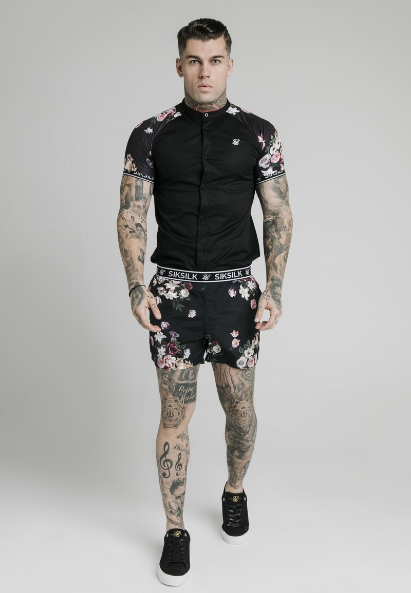 SIKSILK - Shirt - black