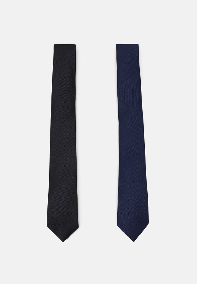 TIES 2 PACK - Cravatta - navy