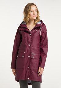 Schmuddelwedda - Waterproof jacket - bordeaux - 0