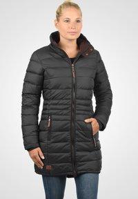 Blendshe - STEPPMANTEL CARLOTTA - Winter coat - metallic grey - 0