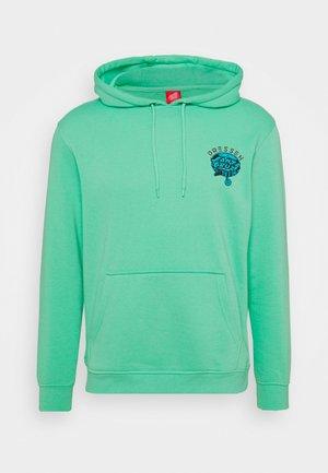 UNISEX DRESSEN PUP DOT HOOD - Sweatshirt - jade green