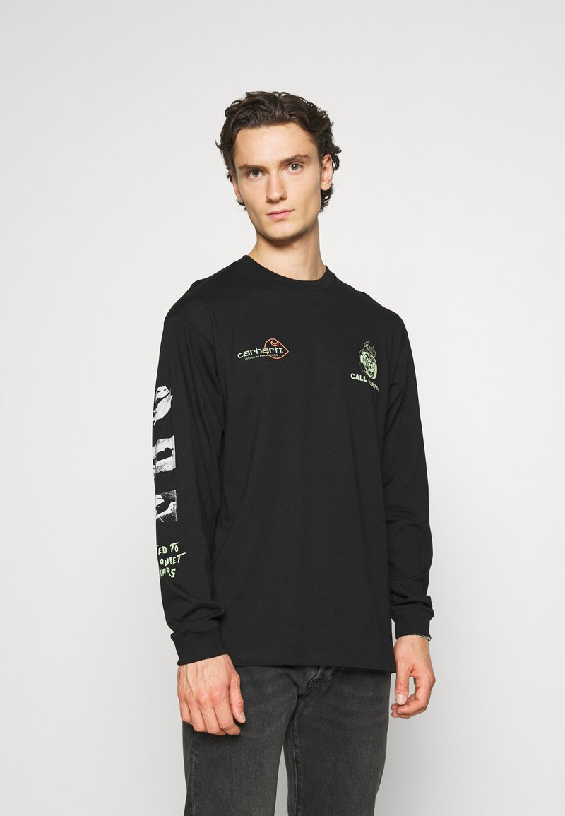 Carhartt WIP - RACE PLAY - Long sleeved top - black