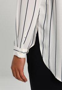 Selected Femme - SFDYNELLA STRIPE  - Tunic - creme/dark sapphire - 5