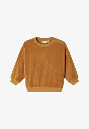 OVERSIZE - Sweater - tobacco brown