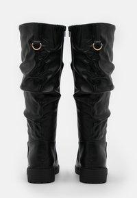 New Look Wide Fit - WIDE FIT CLOUD SLOUCH KNEE HIGH  - Laarzen - black - 3