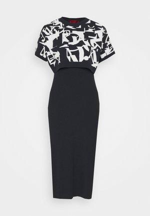 DANAE - Pouzdrové šaty - navy blue