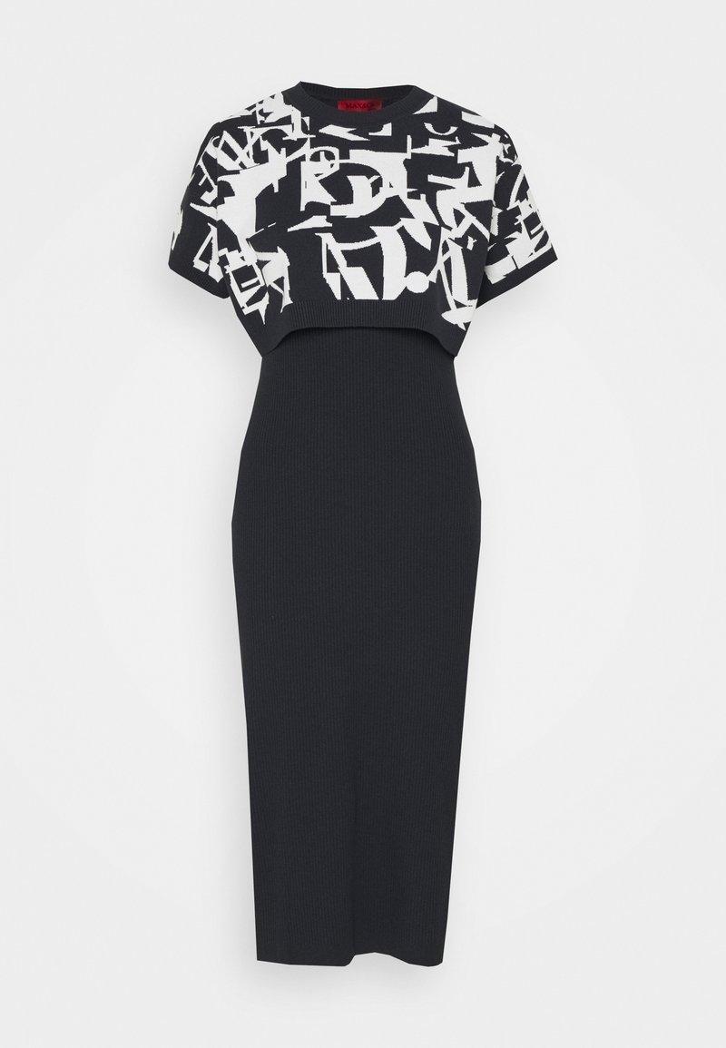 MAX&Co. - DANAE - Pouzdrové šaty - navy blue