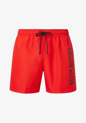 INTENSE POWER - Swimming shorts - rot