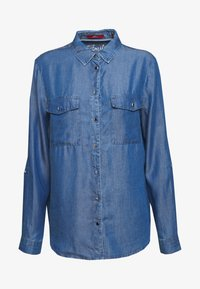 s.Oliver - Chemisier - blue denim - 5
