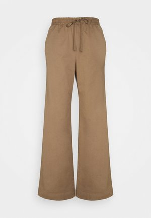 GILLIAN TROUSER - Kalhoty - muddy brow