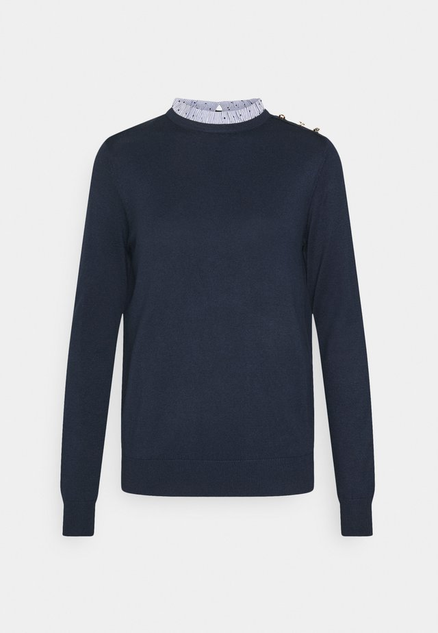 BIMAT CUELLO - Strikpullover /Striktrøjer - medium blue