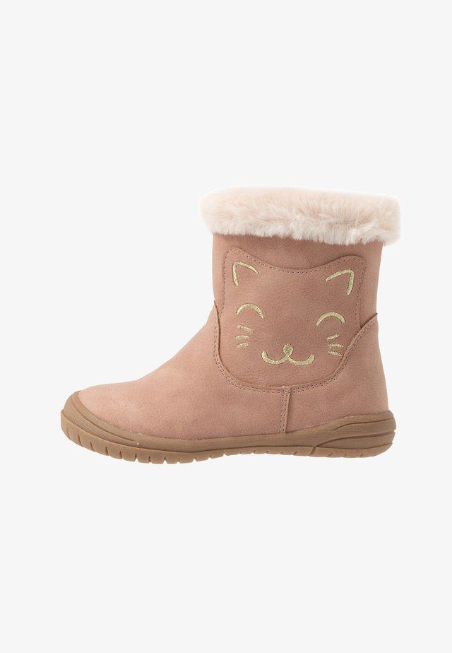 Classic ankle boots - pink