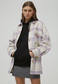 PULL&BEAR - Light jacket - mauve - 0